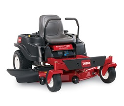 commercial lawn mower by toro